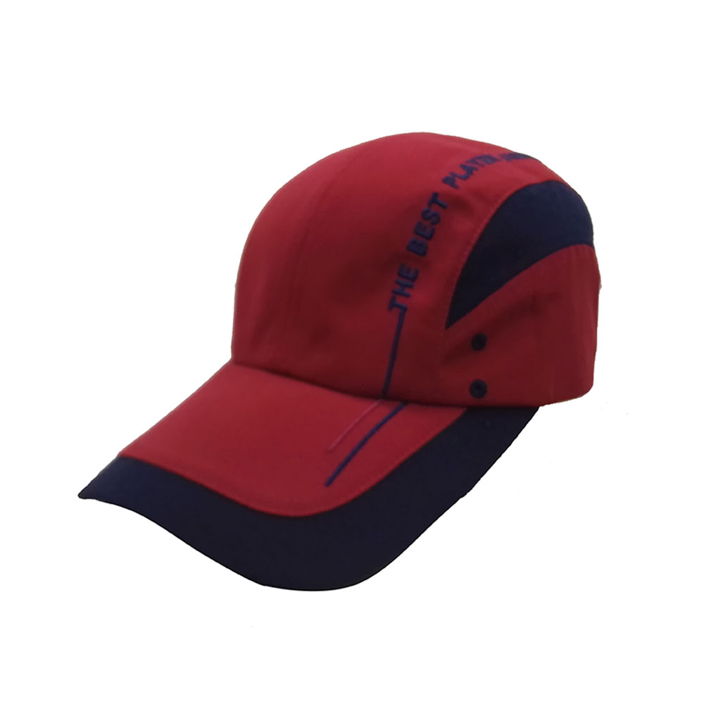 High quality china manufacturer visor cap hat breathable suede cap