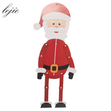 Christmas Ornament paper Doll Christmas Hanging decoration