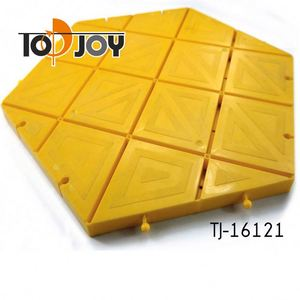 Yellow Hexagons Quick Install Remove The Flexible Assembly Floor
