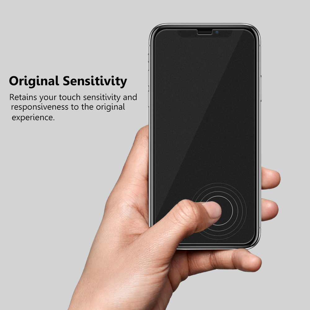Wholesale case friendly version 2.5D 0.33mm matte tempered glass screen protector for iPhone X