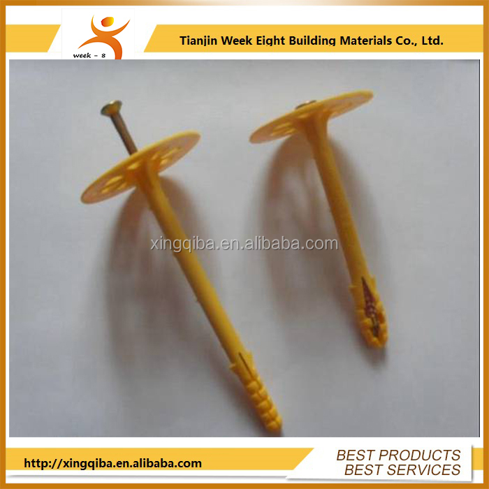 wall insulation iron nail and insulation pin
