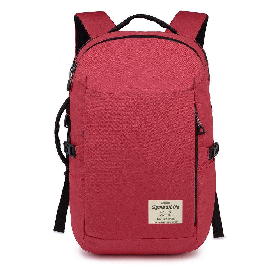 Get Quotations · SymbolLife Water Resistant Backpack Travel Duffel Bag  Hiking Bag Camping Bag Rucksack Laptop Bag Sports Bag 134fb6a9ee6b7