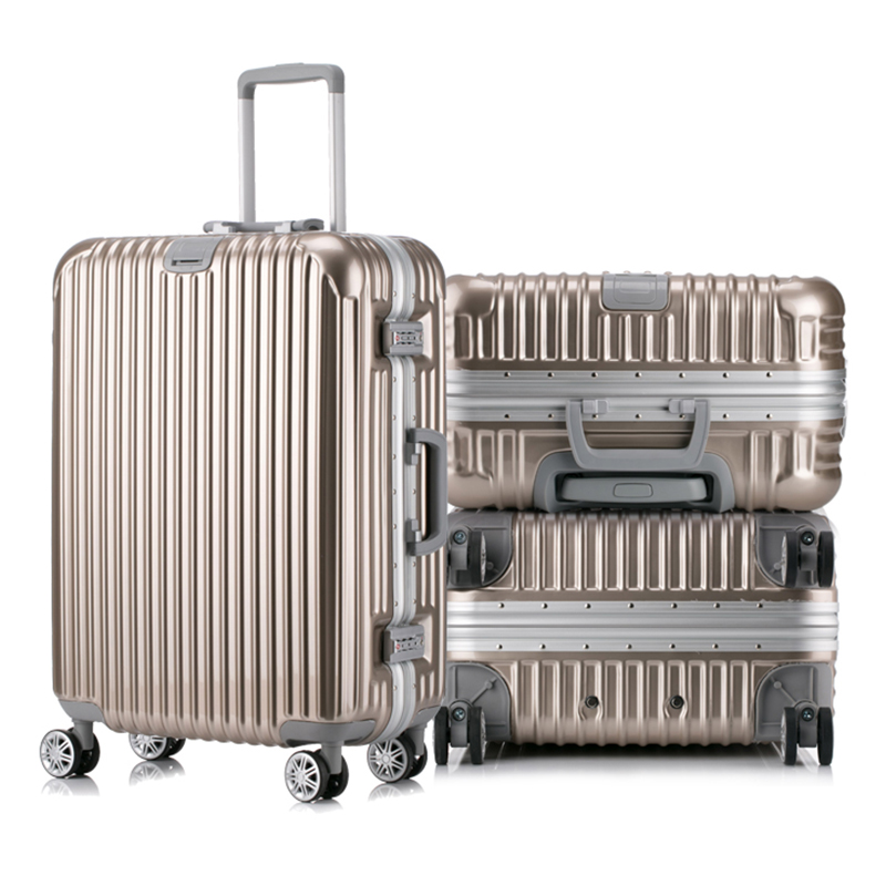 high quality cover crown suitcase with chair travel