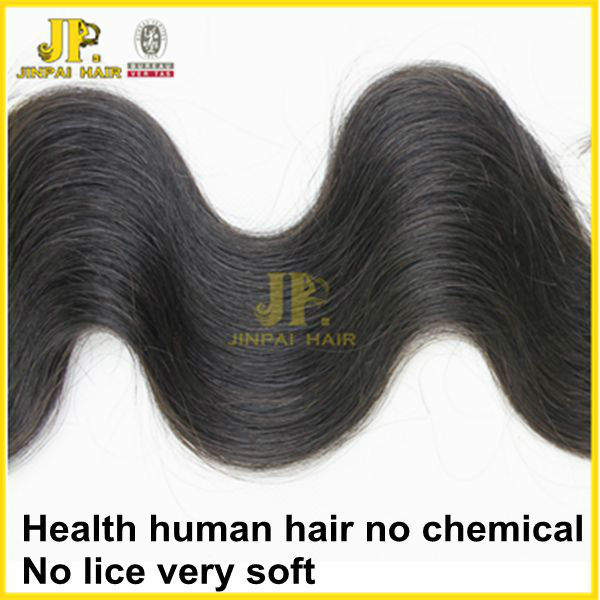 JP 5A hair salon logos full bundles raw natural black virgin malaysian bulk hair