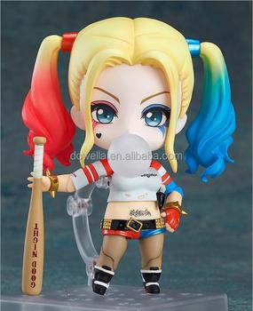 Anak Anak Bayi Koleksi 10 Cm 3d Plastik Pvc Joker Harley Quinn