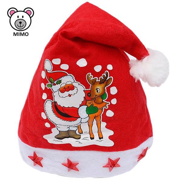 Xmas Christmas Baby Red Santa Hat 100/% Polyester
