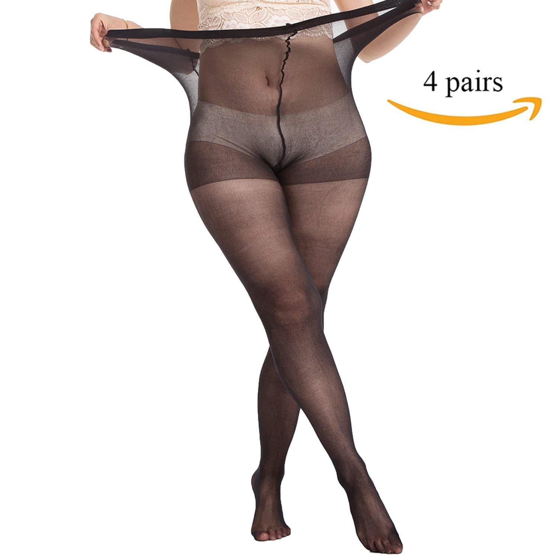 Plus size maternity pantyhose