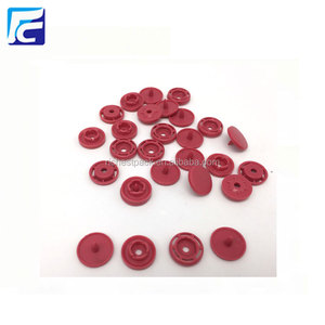 Customized Free Mould Plastic Nylon Colors 4 part Buttons Snap Button Fastener For Kidswear,rainwear,bags