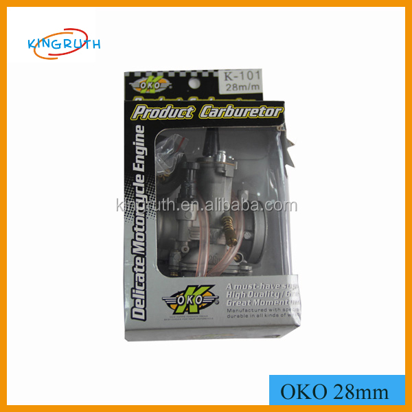 High quality motorcycle engine parts OKO 28 MM carburetor