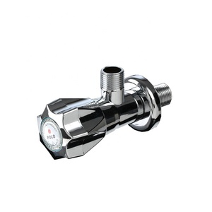 ABS Chrome Plated Angle Valve Good Use POLO Plastic ABS Faucet Water Bibcock Taps