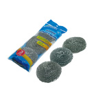Wholesale cheap kitchen pot cleaning galvanized mesh scourer ball