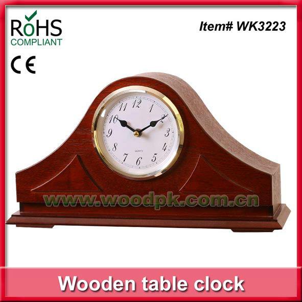 Pic en bois horloge de bureau antique vendre horloge de bureau tables id de produit - Horloge de bureau windows ...