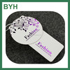 OEM name hang tags with hot foil paper hang tags paper garment hang tags