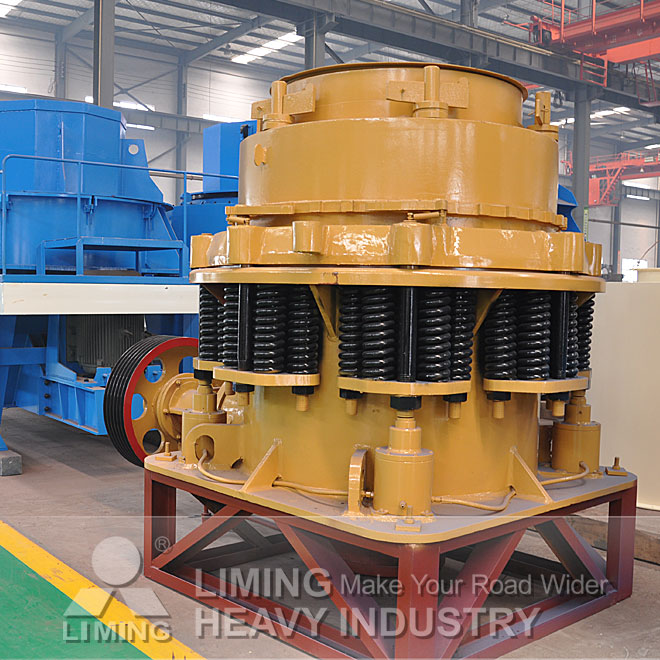 CS Spring cone crusher gold mining equipment