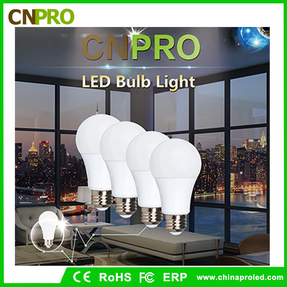 Amazon hot sale aluminium coated by plastic led bulb with free logo service