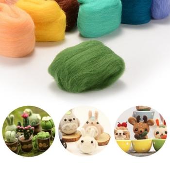China Super Chunky Merino Wool Yarn Wholesale Wool Roving Yarn For