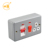 Metal clad 45A DP cooker control unit switch socket with neon