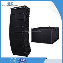 Line array activo altavoces de matriz, Sistema line array altavoz, Baja precio de altavoces line array