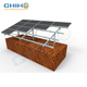 China supplier ground solar panel mounting pole photovoltaic structure