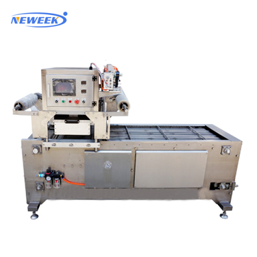 NEWEEK map food tray sealing machine