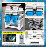 HOLIAUMA Printing machine embroidery machine price 2 head