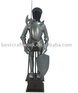 Metal Decoration Medieval Knight Armour