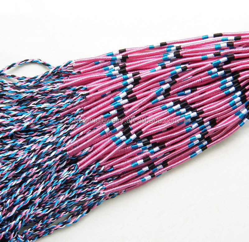 Handmade Cotton Fabric Woven Friendship Bracelets