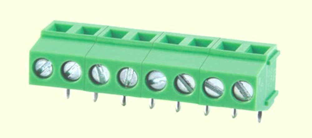 Conn2U 50-Pack PCB Screw Terminal Block, 2P 3P Optional, 5.0mm 5.08mm 7.5mm 7.62mm Pitch optional, Straight, Right Angle Opitonal 300V10A (Right Angle 2P, 7.5mm Pitch)