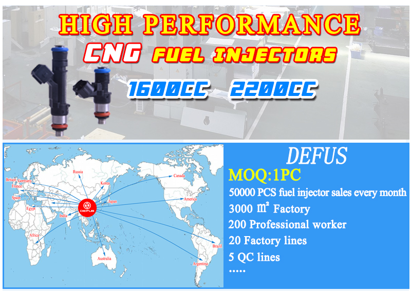 Defus High Quality Fuel Injector Injection For Pe-ugeot 306 406 Cit-roen  Xsara 1 8 16v D3172ma D3ma2 Nozzle - Buy Fuel Injectors D3172ma,Fuel  Injector