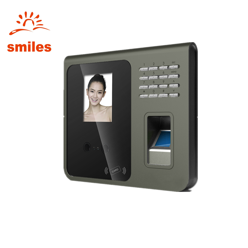 TCP/IP Biometric Attendance System Facial Recognition Device And Fingerprint Scanner Support Wifi