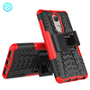 Anti-shock kickstand tpu hybrid case for lenovo k8 back cover with dual layers