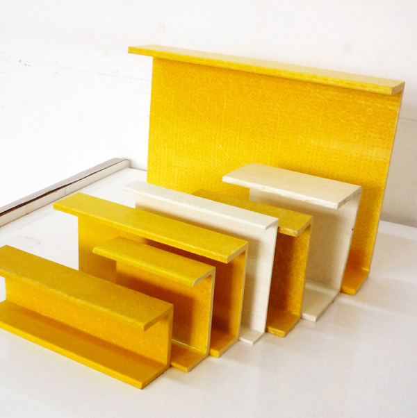 China pultruded FRP fiberglass composite C channel with ISO resin or o-type resin
