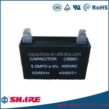 Cbb61 4uf Ac Motor Capacitor Fan Motor Cbb61capacitor - Buy ...