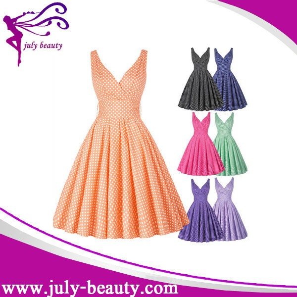 Plus Size Cotton Dresses Cheap 17