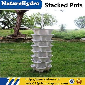 Garden Stacker Stackable Hangable All Season Self Watering Planter