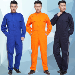 2018 Spring Season OEM Factory Supply Men's Industrial Work Coveralls Design