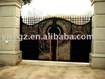 2013 Luxury Gate Grill Design Of Wrought Iron Buy Gate