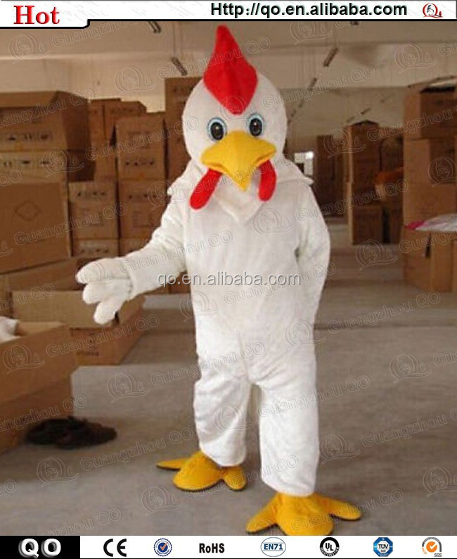 2015 competitive price vivid adult chicken costume for sale