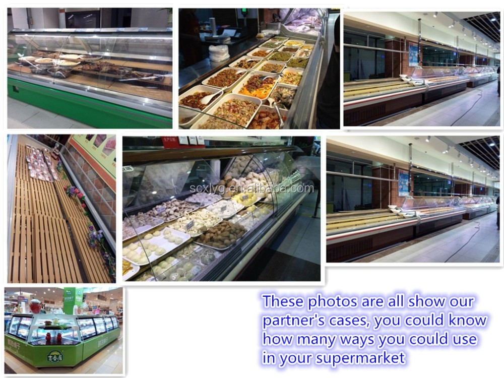 customized Japanese display rack skid resistance  in the refrigeration