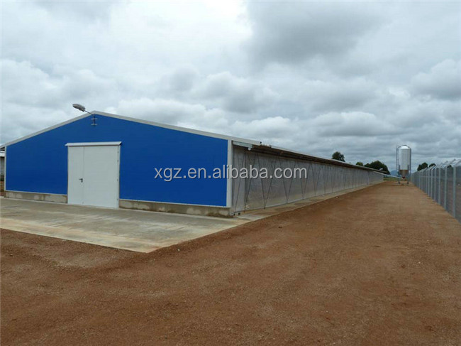 Steel Structure Poultry Farm House