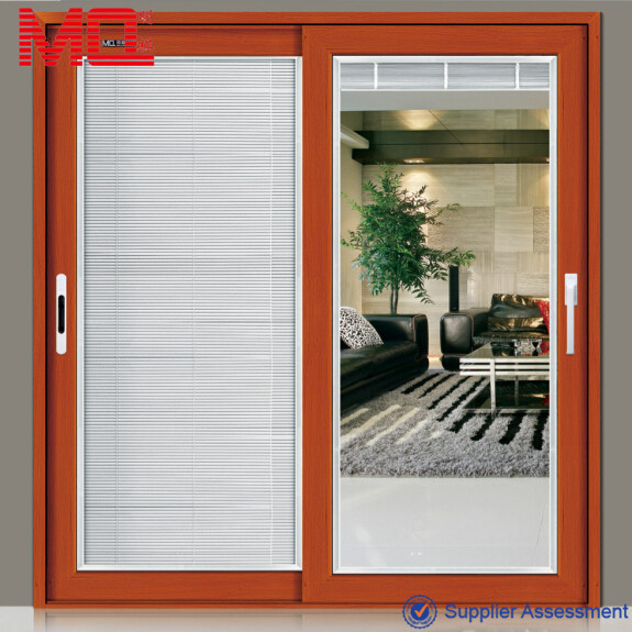 Aluminum safety doors design with grill 48 inch main door Grill main door design