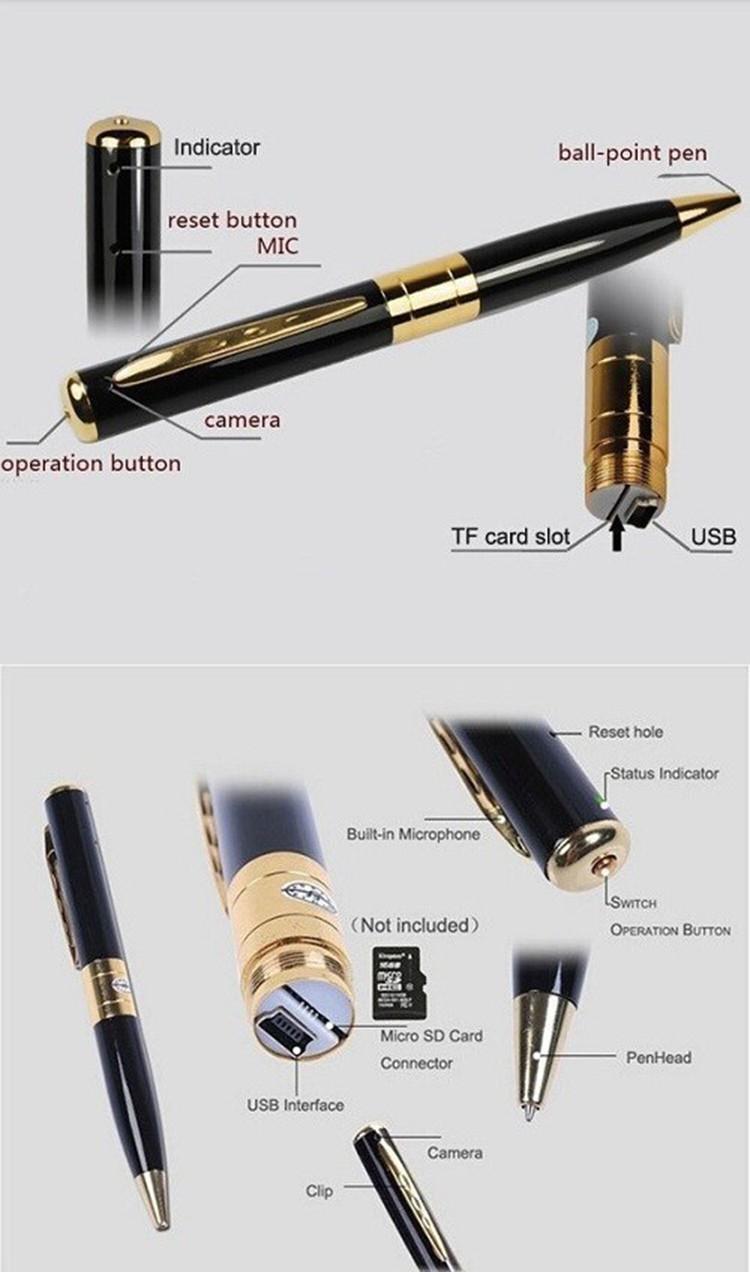 DVR Pen Digital 960p HD Video & Audio Hidden Camera Executive Pen Built-In Rechargeable Battery.jpg