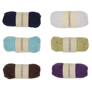 Soft 100 cotton yarn baby eco hand knitting wool cotton yarn usa