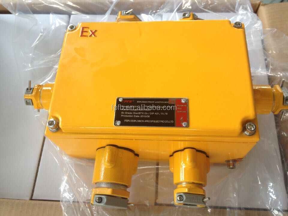 Explosion Proof Distribution Box Enclosure 300*300*150mm