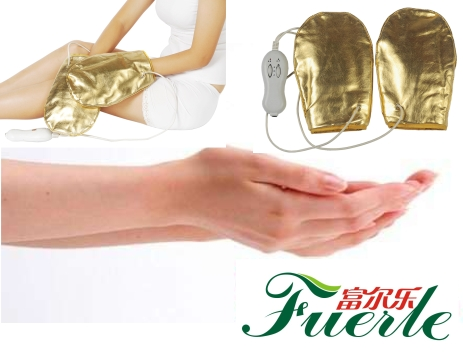 Vibration infrared heating electrical massage gloves