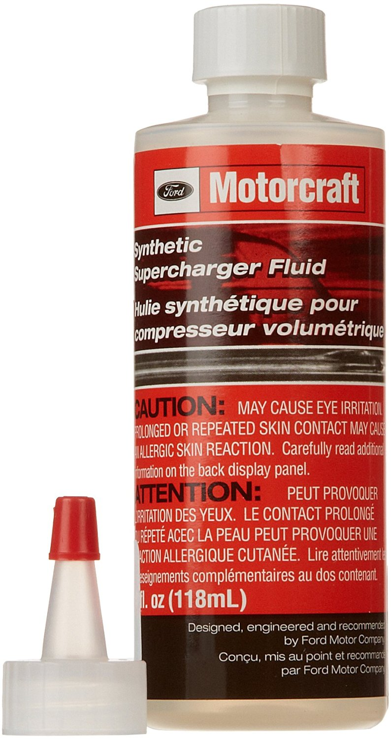 Genuine Ford Fluid XL-4 Synthetic Supercharger Fluid - 4 oz.