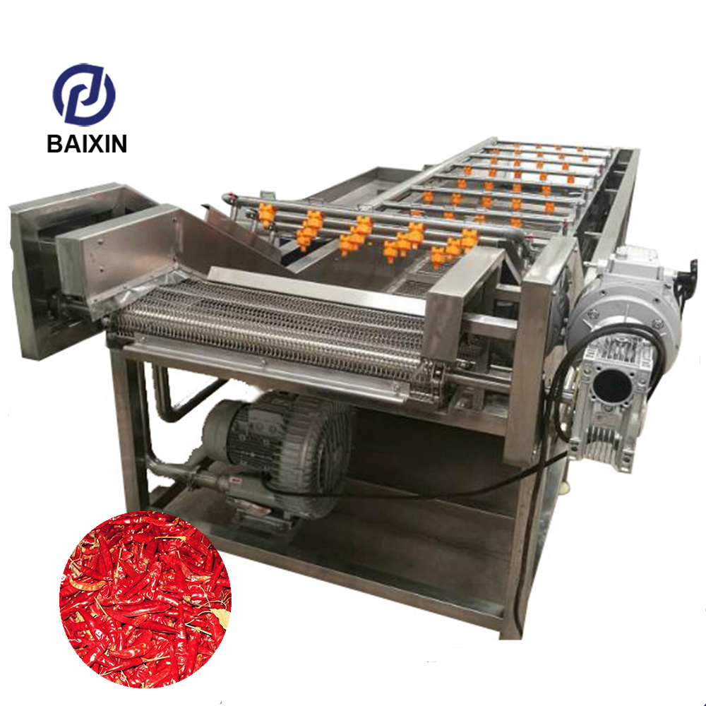 Neweek Food Processing Stainless Steel Brush Roller Vegetable Blueberry Washing Machine