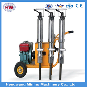 2016 New Design Manual Stone Splitter For Hard Rock Excavation/Diesel Engine Rock Demolition with best price