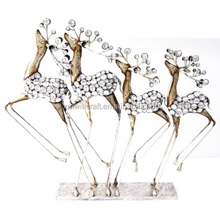 metal reindeer christmas decorations metal reindeer christmas decorations suppliers and manufacturers at alibabacom - Metal Reindeer Christmas Decorations
