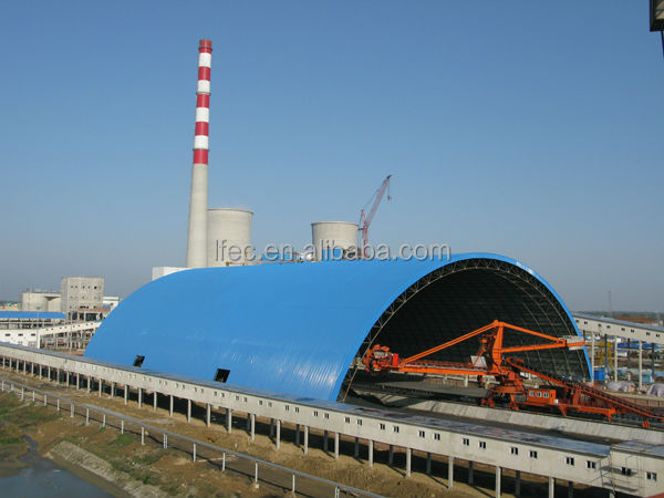Economic Outdoor Modular Coal Fired Power Plant Metal Storage Building